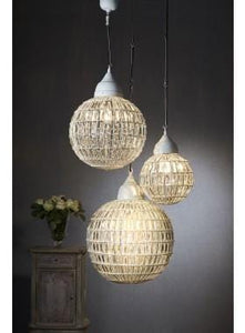 Pendant Light Madeira Ball Lamp In Medium