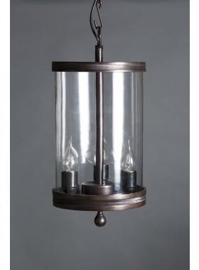 Pendant Light Carnaby Glass Hanging Lamp In Bronze