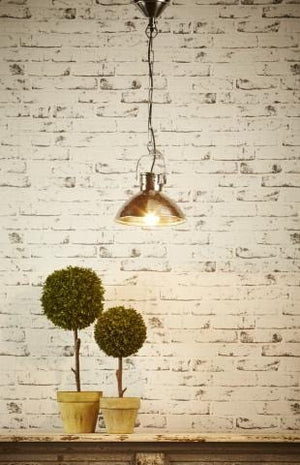 Pendant Light Ashton Hanging Lamp In Antique Silver