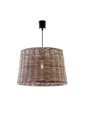 Pendant Light Natural Wicker Beach