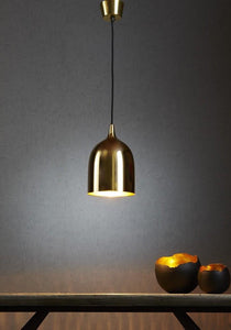 Pendant Light Lumi-R Ceiling Lamp Brass