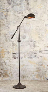 Floor Lamp Calais Antique Brown Adjust. Floor Lamp