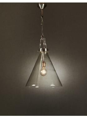 Pendant Light Gadsden Large Glass Hanging Lamp
