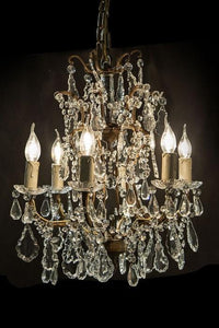 Chandelier Crystal 6 Light Chantilly