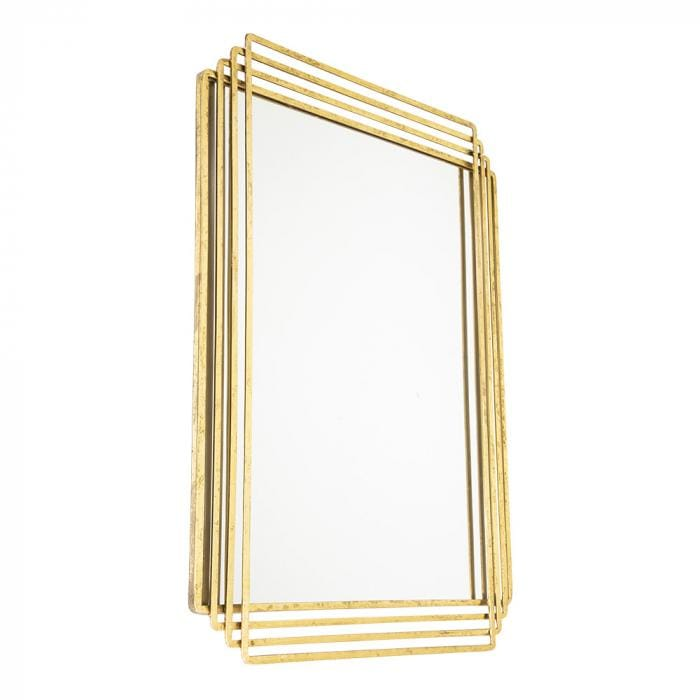 Strip Gold Mirror
