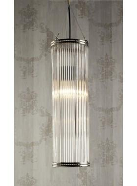 Pendant Light Verre Large Pipe Glass Pendant Lamp