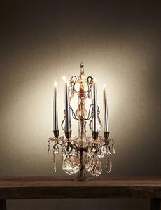 Chandelier Table Lamp Estella Candelabra Small