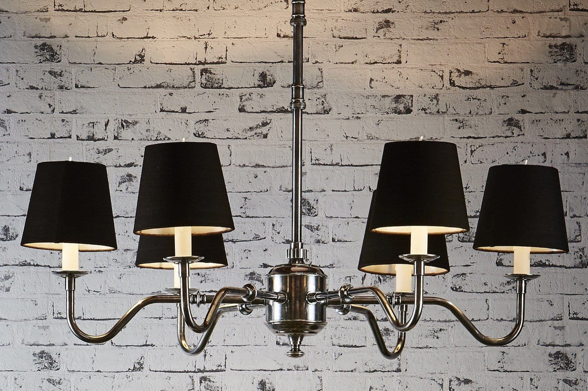 Chandelier Prescot 6 X Arm Chandelier Antique