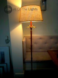 Floor Lamp Casablanca Floor Lamp In Brown