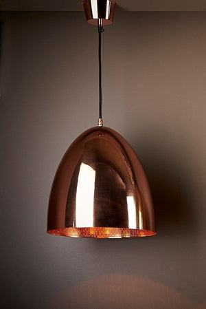 Pendant Light Egg Copper Ceiling Lamp