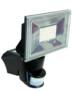 Ugo Led Sensor Flood Light Black