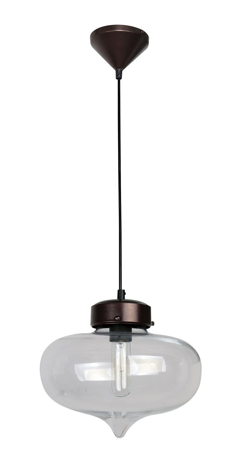Pendant Light Glass Retro Hartford No.14