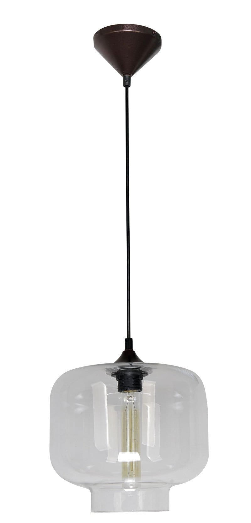 Hartford No.21 Single Pendant Clear