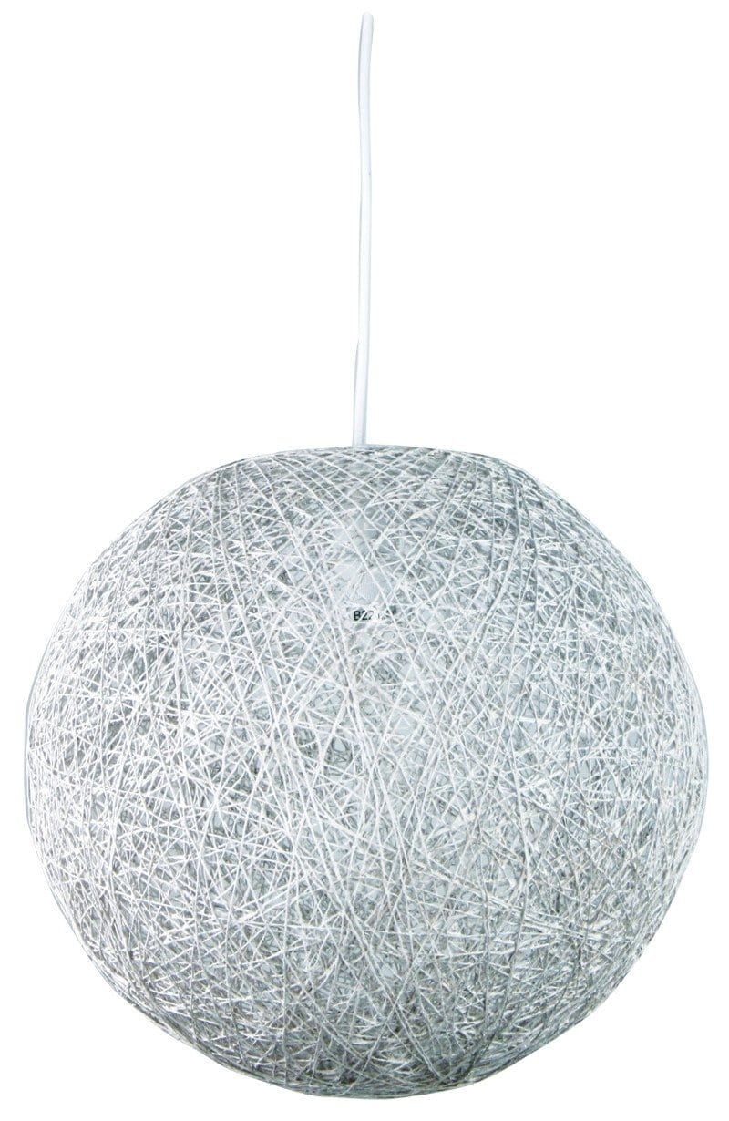 Kono 45 Abaca Pendant Antique White