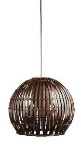 Pendant Light Dark Brown Satori 36