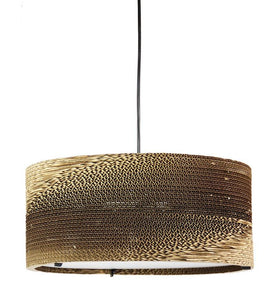 Pendant Light Cardboard Corrugated Boite
