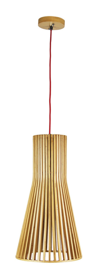 Nord 450 Single Pendant Natural W/Red Cord
