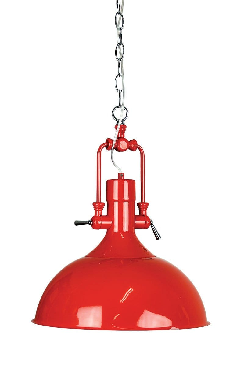 Pendant Light Red Cottage Single