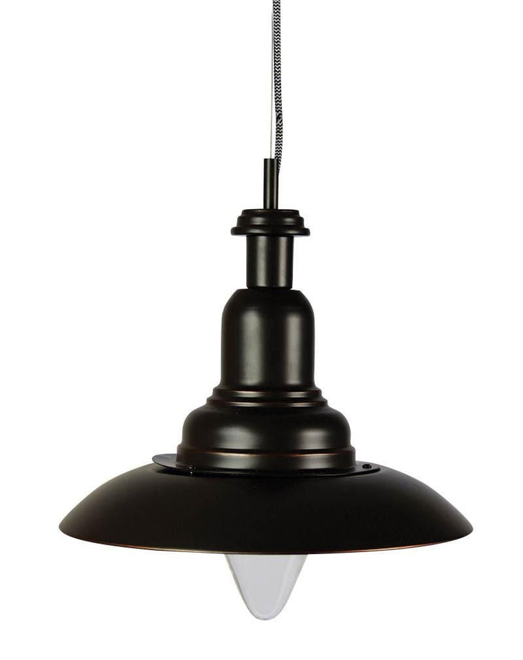 Capple Single Pendant Oil Rubbed Bronze