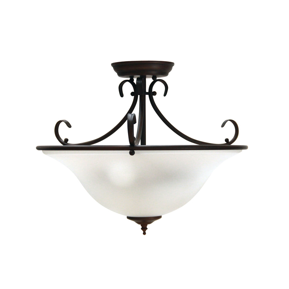Pendant Light Gaston Close To Ceiling 3 Light