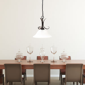 Pendant Light Gaston Single Light Vintage Bronze