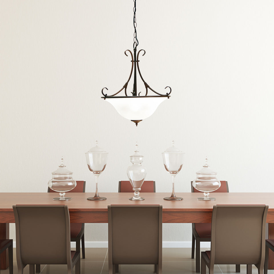 Pendant Light Single 3 Light Gaston