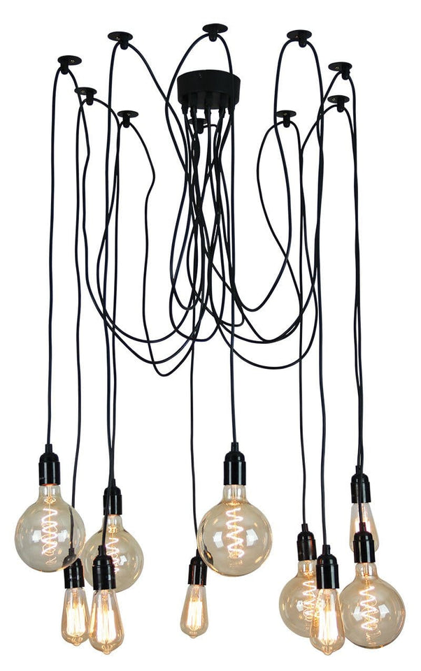 Suspension Pendant 10 Light Philly
