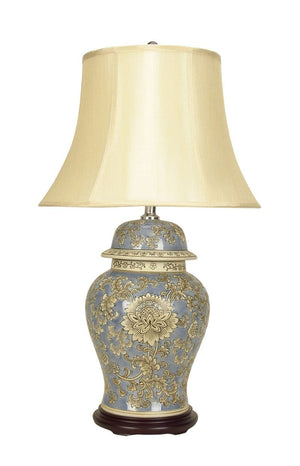 Table Lamp Chinese Ceramic Lifen
