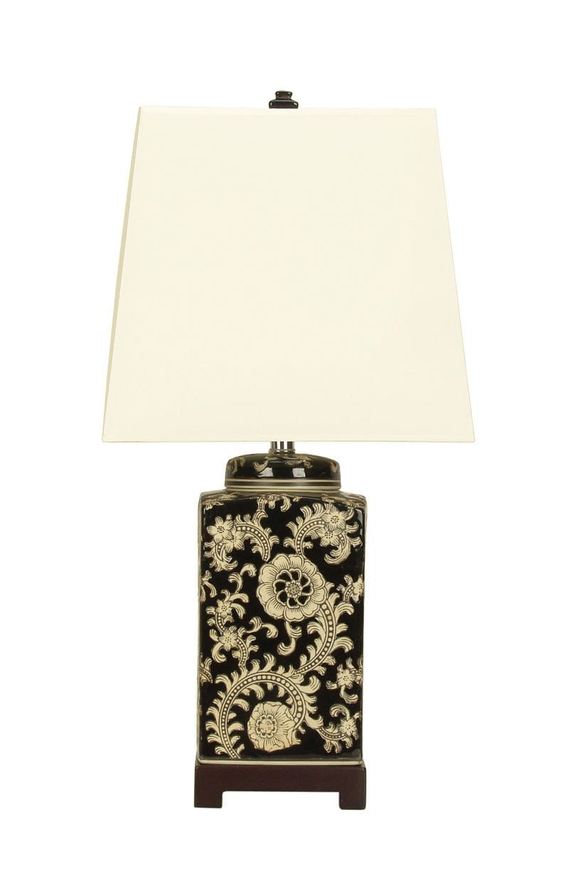 Table Lamp Chinese Ceramic Shan