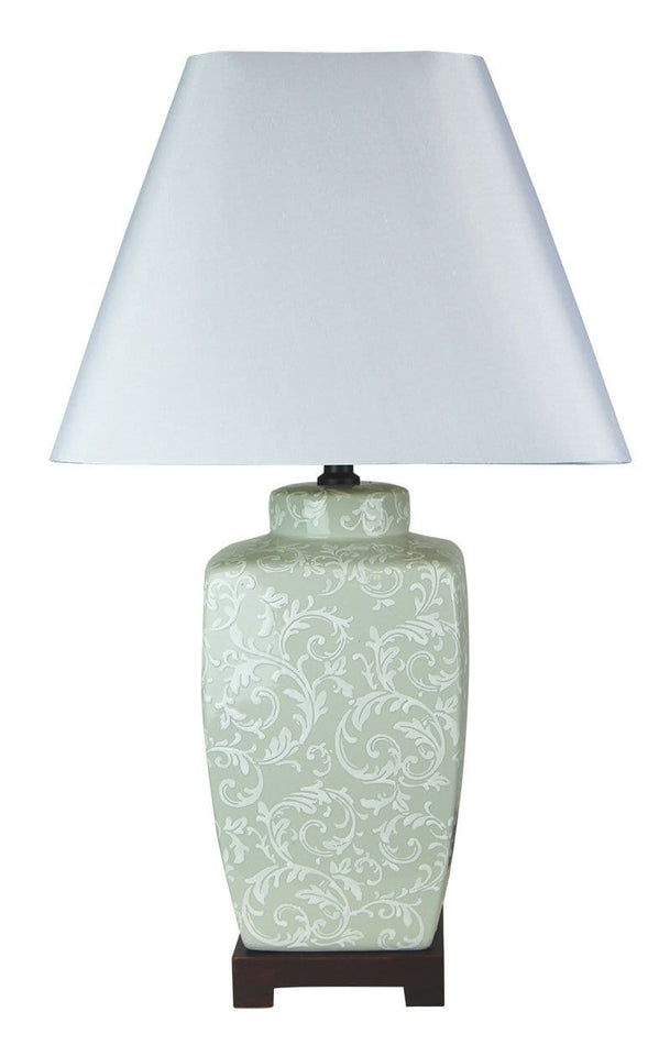 Table Lamp Chinese Ceramic Liling