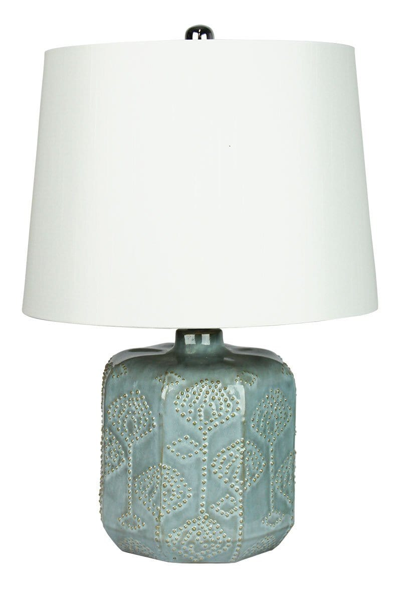 Bikki Blue Complete Table Lamp