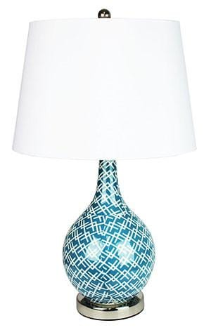 Table Lamp Light Blue Groovy Chaka
