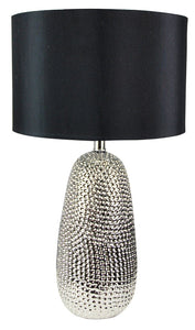 Table Lamp Ceramic Hammered Finish Alita