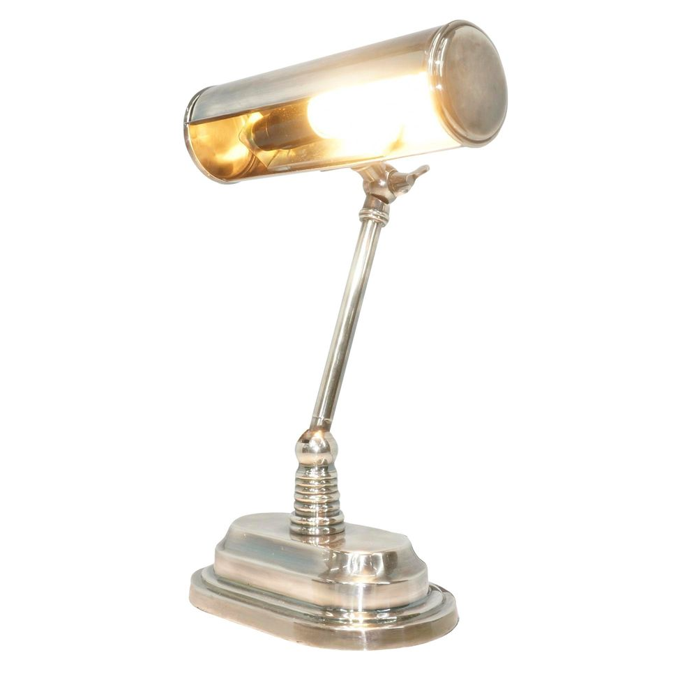 Desk Lamp Carlisle Bankers Table Lamp In Silver
