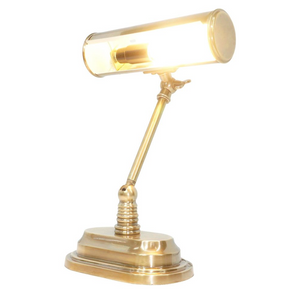 Desk Lamp Carlisle Bankers Table Lamp Brass
