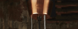 Pendant Light Alfresco Dome Copper