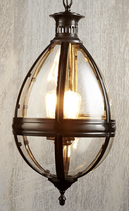 Pendant Light Saville Chandelier Black