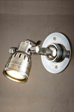 Wall Light Seattle Short Arm Silver, Brass, Black