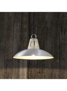 Pendant Light Capri Hanging Lamp In Silver