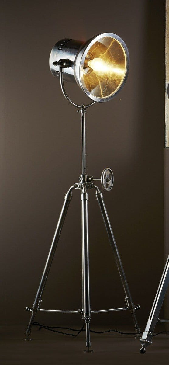 Floor Lamp Solaris Floor Lamp Antique Silver