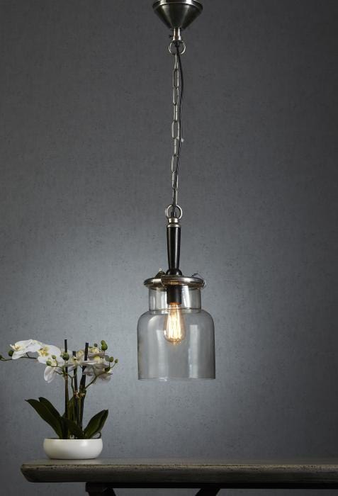 Pendant Light Haiti Silver