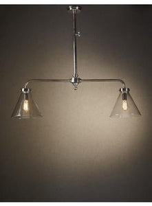 Pendant Light Gadsden Two Arm Hanging Lamp