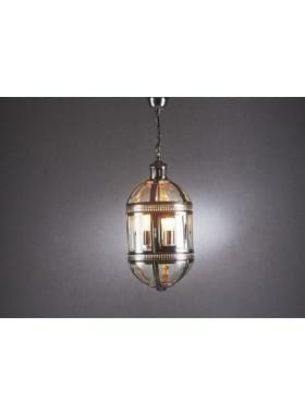 Pendant Light Madrid Hanging Lamp In Shiny Nickle