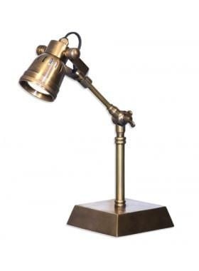 Desk Lamp Seattle Desk Lamp Antique Brass Finish