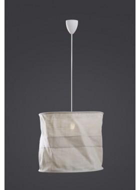 Pendant Light Overhead Lamp(Jute)Crm