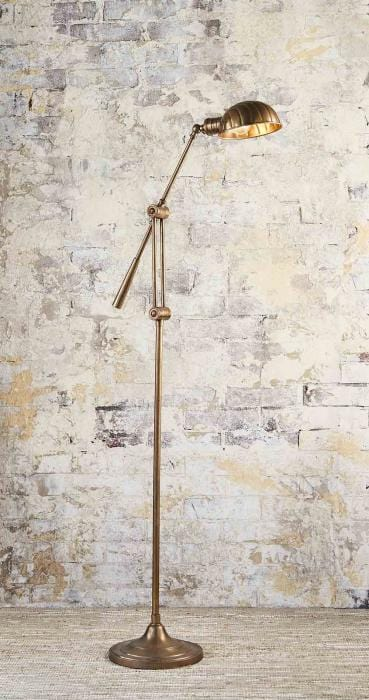 Floor Lamp Calais Antique Brass
