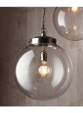 Pendant Light Celeste Large Hanging Lamp Antique Silver