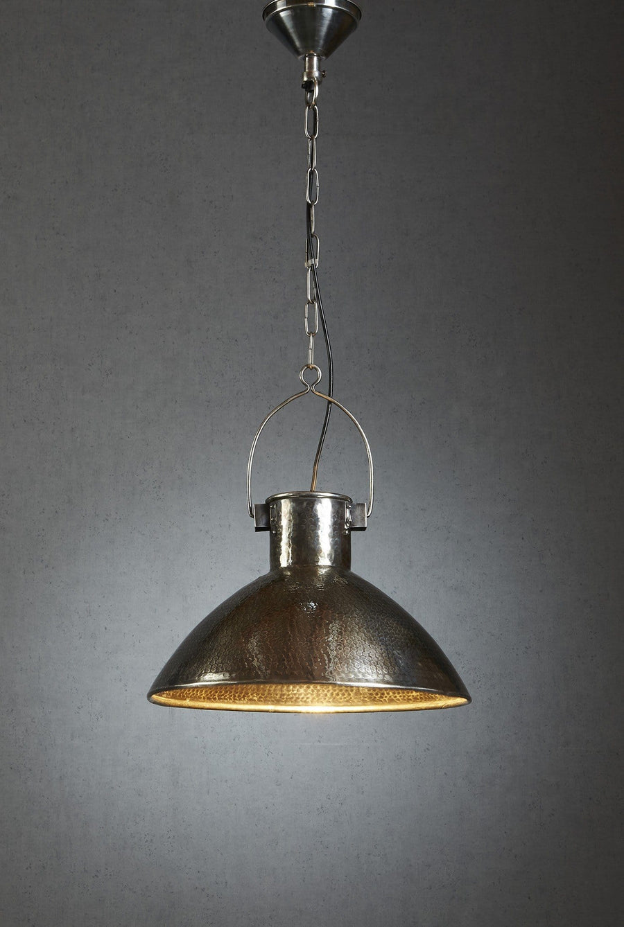 Pendant Light Nelson Hanging Lamp Silver Or Copper