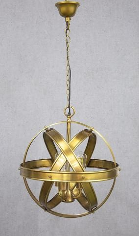 Pendant Light Clan Willian Antique Brass