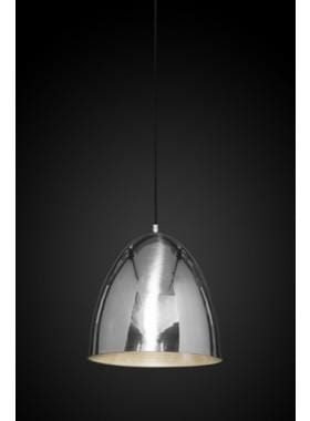 Pendant Light Egg Silver Ceiling Lamp
